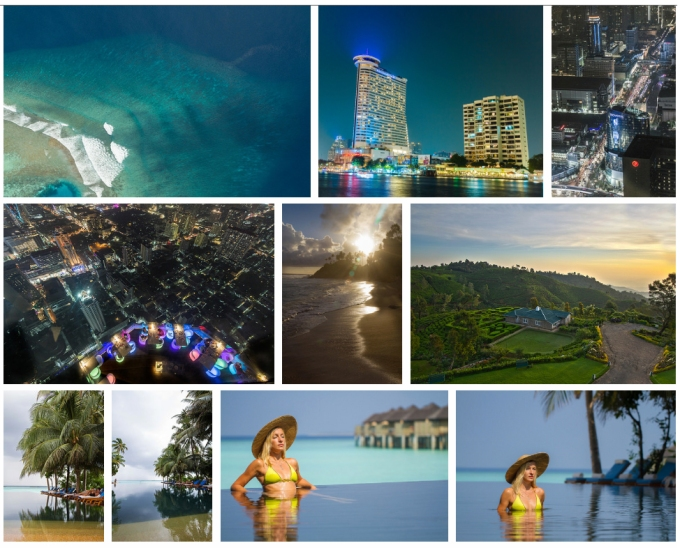 Click to enter our photo gallery: luxury tourism montage