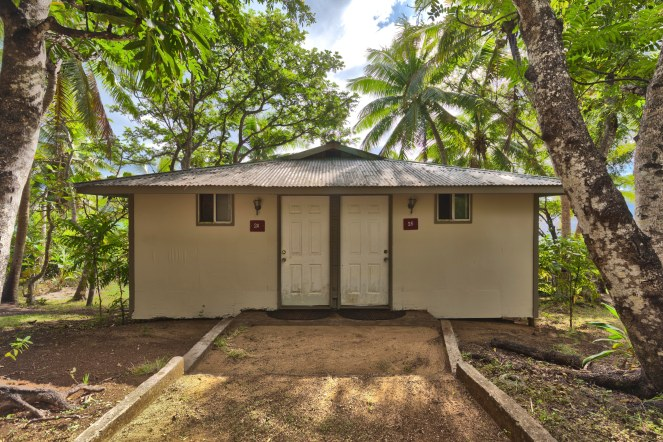 Guest Room, exterior semi detached Fale